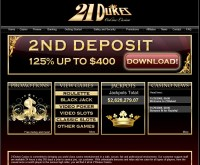 21 Dukes Casino Screenshot
