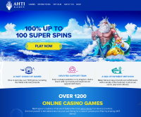 AHTI Games Casino Screenshot