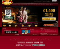Alle Jackpots Casino Screenshot