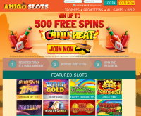 Amigo Slots Casino Screenshot