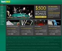 Captura de pantalla de Bet365 Poker