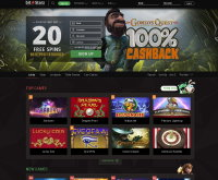 Screenshot del casinò BitStarz