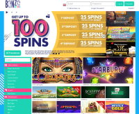 Bonzo Spins Casino Screenshot