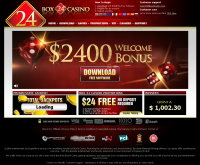 Box24 Casino Screenshot