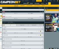 CampeonBet Sports Screenshot
