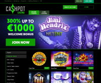 Cashpot Casino Screenshot
