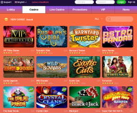 Casinoisy Casino Screenshot