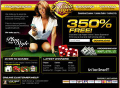 Club Player Casino Screenshot