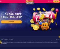 CryptoReels Casino Screenshot