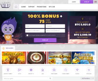 CryptoWild Casino Screenshot