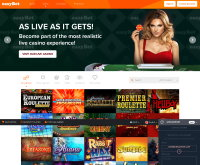 EasyBet Casino Screenshot