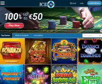 Ice36 Casino Screenshot
