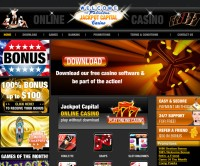 Screenshot des Jackpot Capital Casino