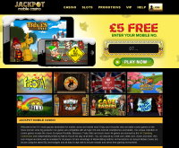 Jackpot Mobile Casino Screenshot