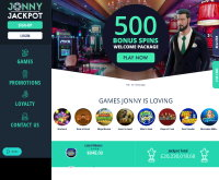 Jonny Jackpot Casino Screenshot