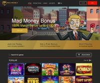 Schermafbeelding van Mad Money Casino