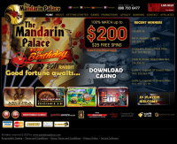 Mandarin Palace Casino Screenshot