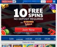 Online Slots UK Screenshot