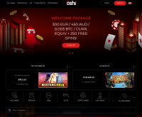 Oshi Casino Screenshot