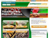 Paddy Power Casino Skjermbilde