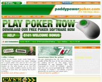 Paddy Power Poker-skärmdump