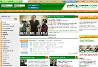 Paddy Power Sportsbook Screenshot