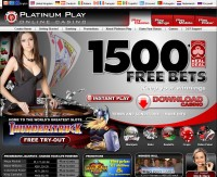 Screenshot Platinum Play Casino