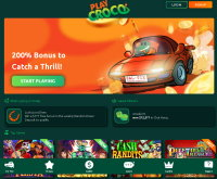 Play Croco Casino Screenshot