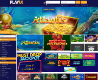 PlayUK Casino Screenshot