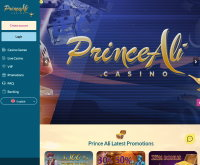 Screenshot van Prince Ali Casino