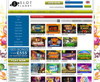 Slot Planet Casino Skärmdump