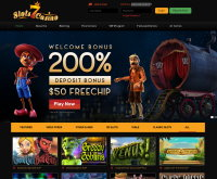 Slots7 Casino Screenshot