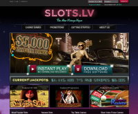 Slots.lv Casino Screenshot