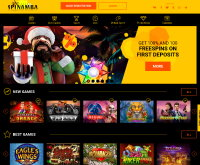 Spinamba Casino Screenshot