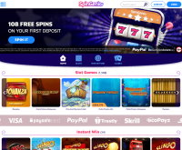Spin Genie Casino Screenshot