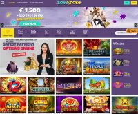 Spin Shake Casino Screenshot