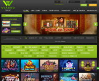 WCasino Online Screenshot