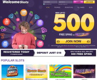 Welcome Slots Casino Screenshot