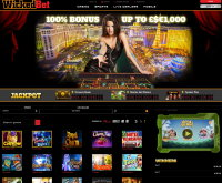 WickedBet Casino Screenshot