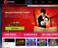 Wicked Jackpots Casino Screenshot
