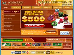 Winward Casino Screenshot