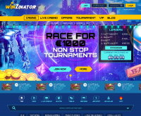 Winzinator Casino Screenshot