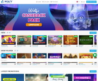 Wolfy Casino Screenshot